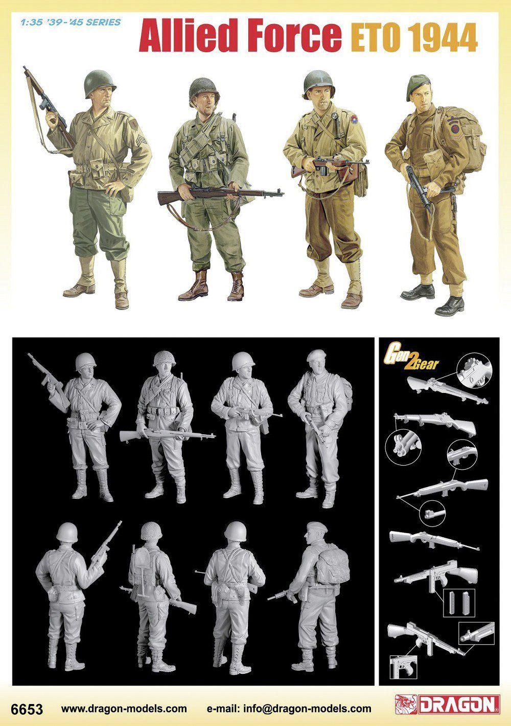 Amazon.co.jp | 1/35 連合軍兵士 ヨーロッパ戦線 (ETO) 1944年 | ホビー 通販