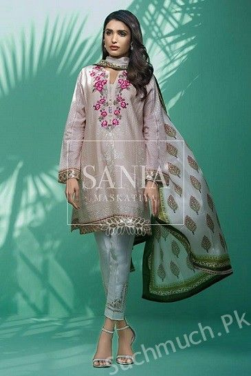 dd33a2c2b8c118 Sania Maskatiya Latest Eid Collection 2017, Sania Maskatiya Dresses, latest  eid collection 2017, dresses for eid ul fitr , Eid ul Fitr, Digital shirts
