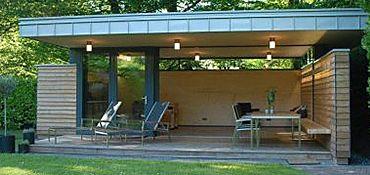 Bildergebnis für gartenhaus modern | Garten | Pinterest | Searching