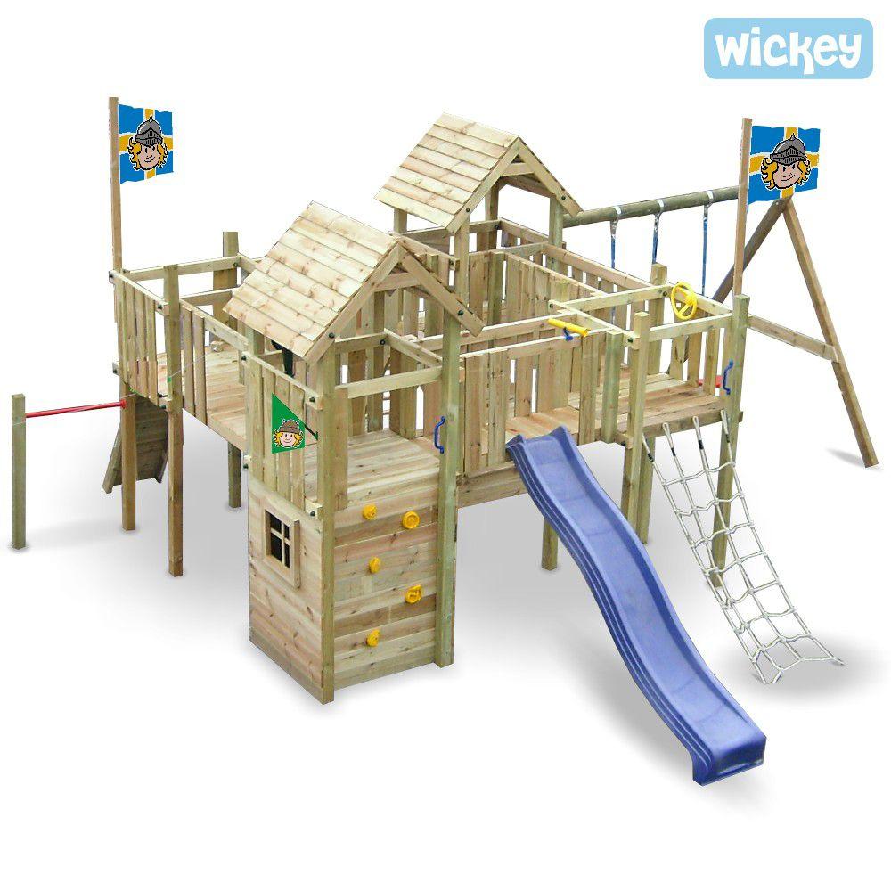 Ritterburg Wickey Camelot Spielturm Und Ritterburg Mit Vielen Optionen Spielturm Spielplatz Design Hinterhof Spielplatz
