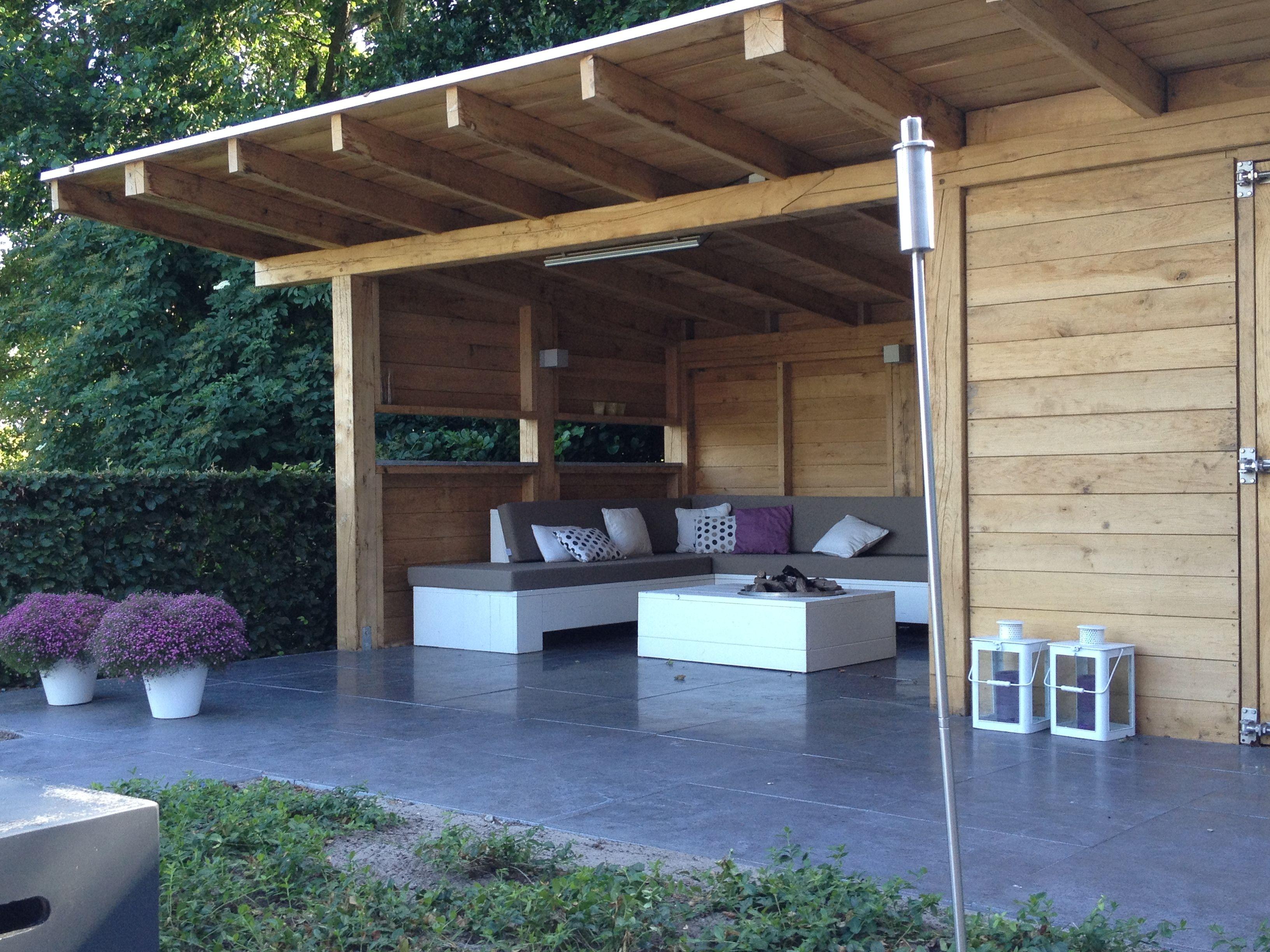 gardenhouse with fireplace my home pinterest verandas