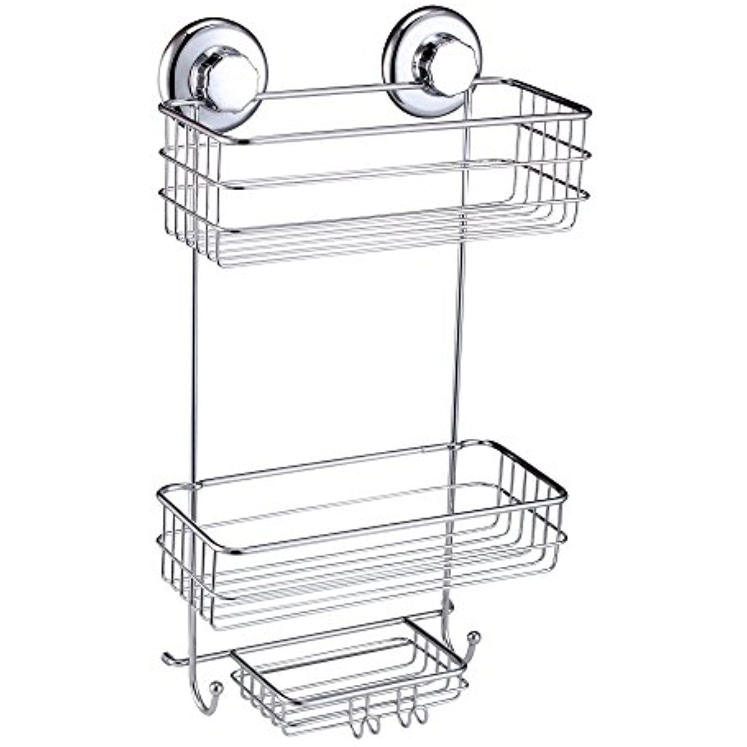 HASKO accessories - Powerful Vacuum Suction Cup Shower Caddy ...