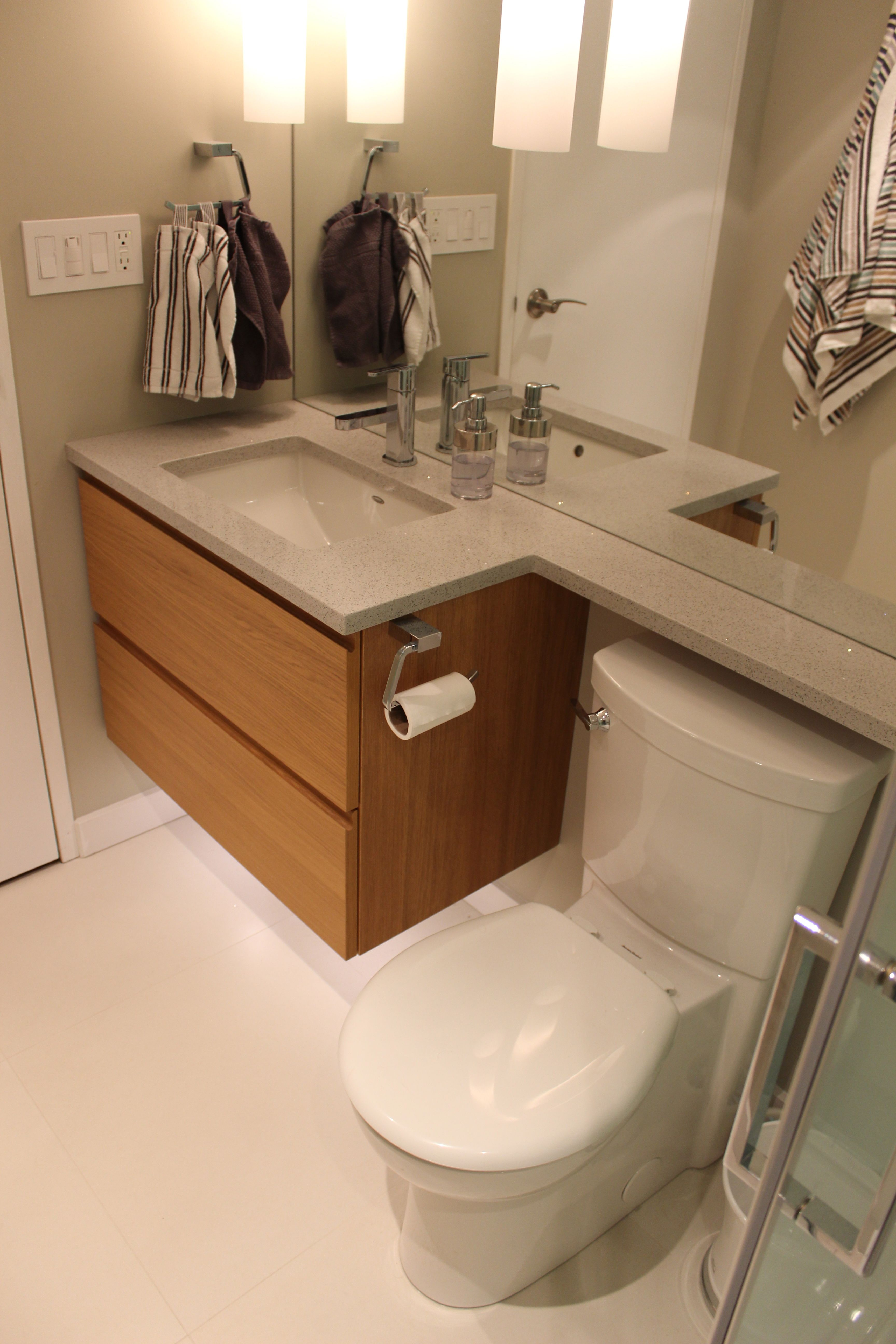 Condo Bathroom Renovation modern beautiful and pact SKG