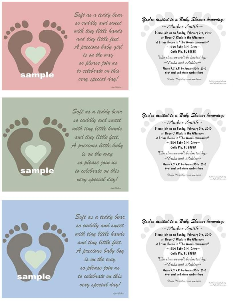 Poems For Twin Baby Shower Invitations   Little Ones   Pinterest ...