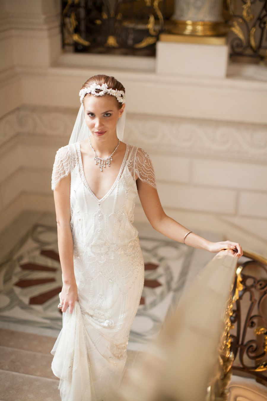Jenny Packham Eden wedding dress · Shangri-La Paris - MARIA FEKIH ...