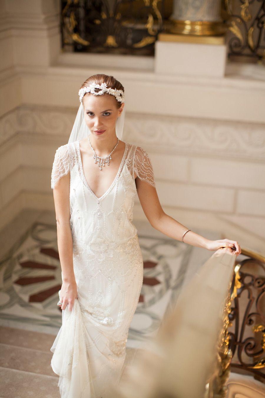 Jenny Packham Eden wedding dress · Shangri-La Paris - MARIA FEKIH ...