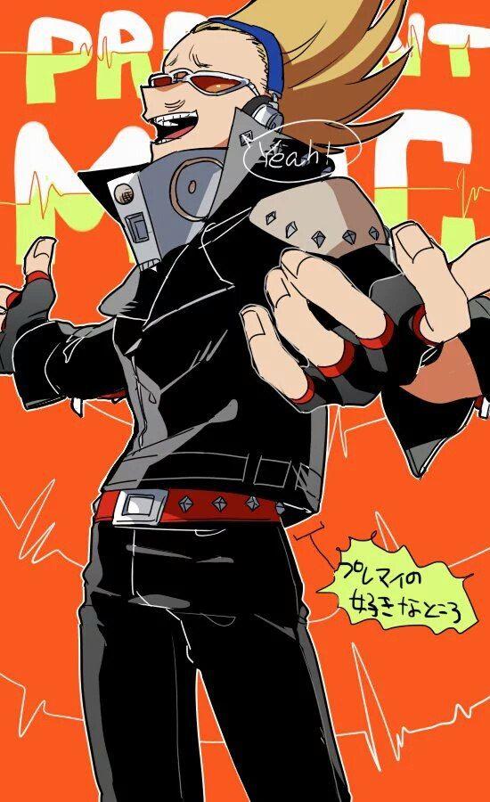 Boku No Hero Academia Present Mic Boku No Hero Academia Hero Buko No Hero Academia