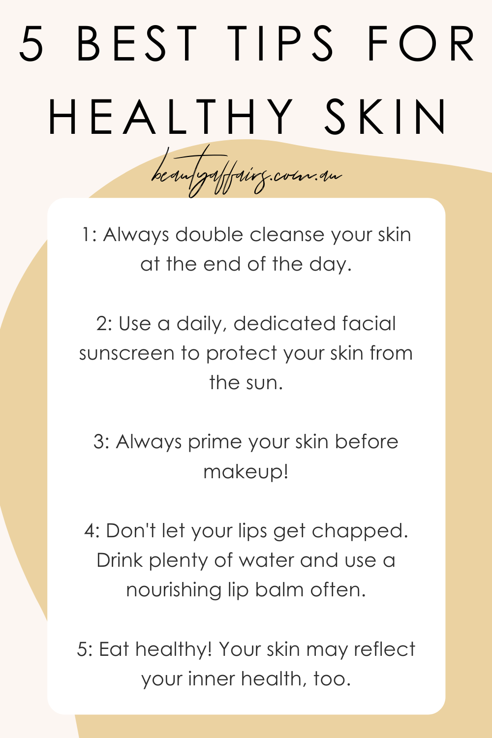 12 Best Beauty Secrets for Healthy Skin in 12  Healthy skin