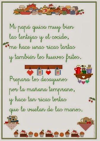 Poemas Canciones Para El Dia De La Madre Para Niños La Letra N Poesia Para Ninos Poesia Poemas