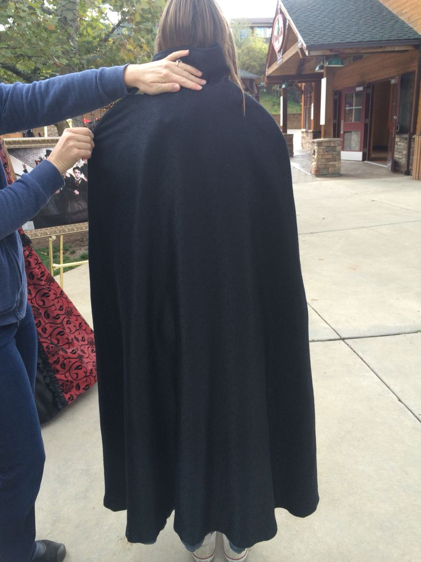 Back of cloak