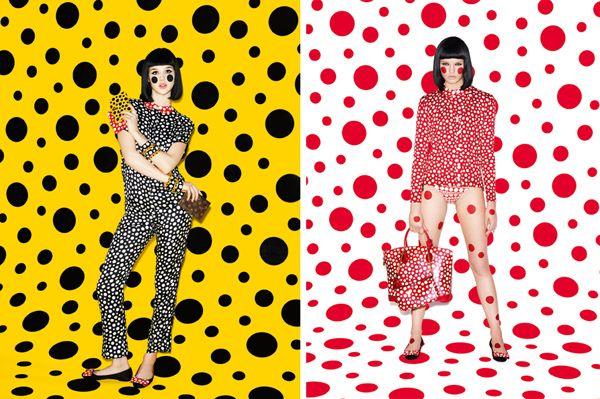 polka dot perfection - Louis Vuitton   Yayoi Kusama