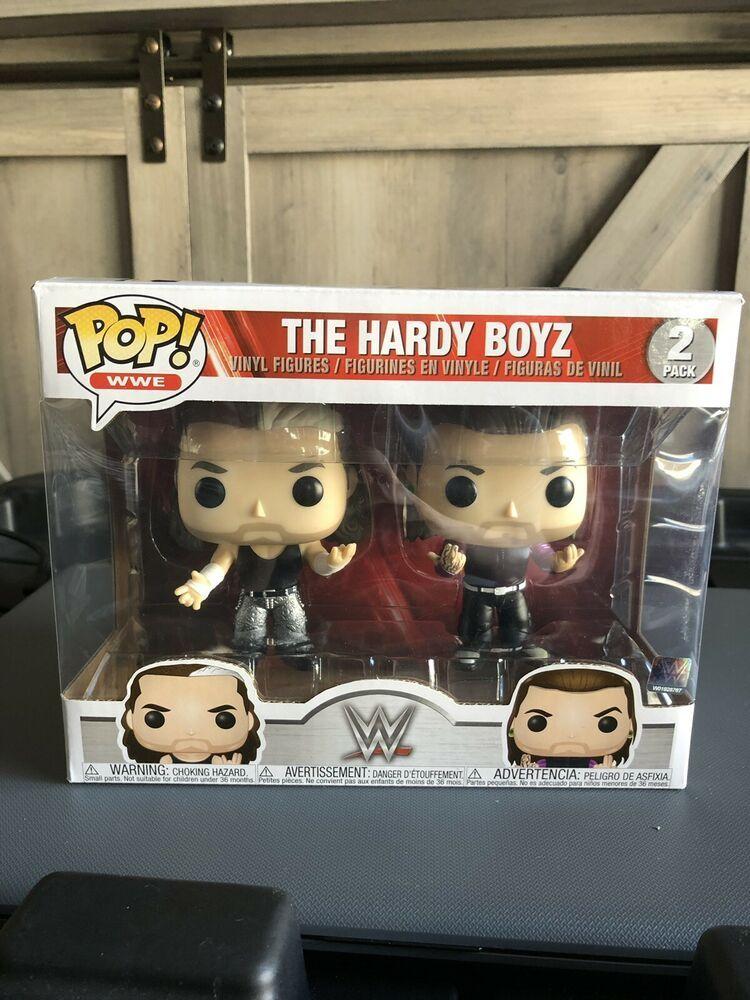 2 Pack Limited Wwe The Hardy Boyz Funko Pop!