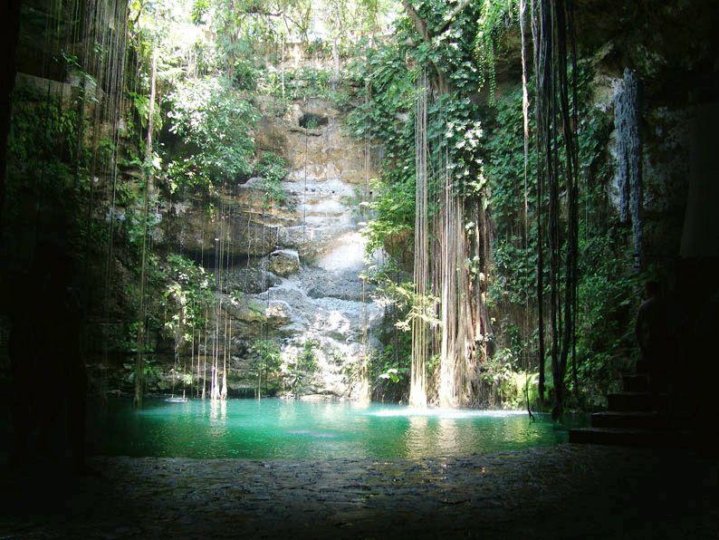 Naturalmente, #Yucatán encanta. http://soy.ph/Pin_ViajesYucatan #ViajesPalacio