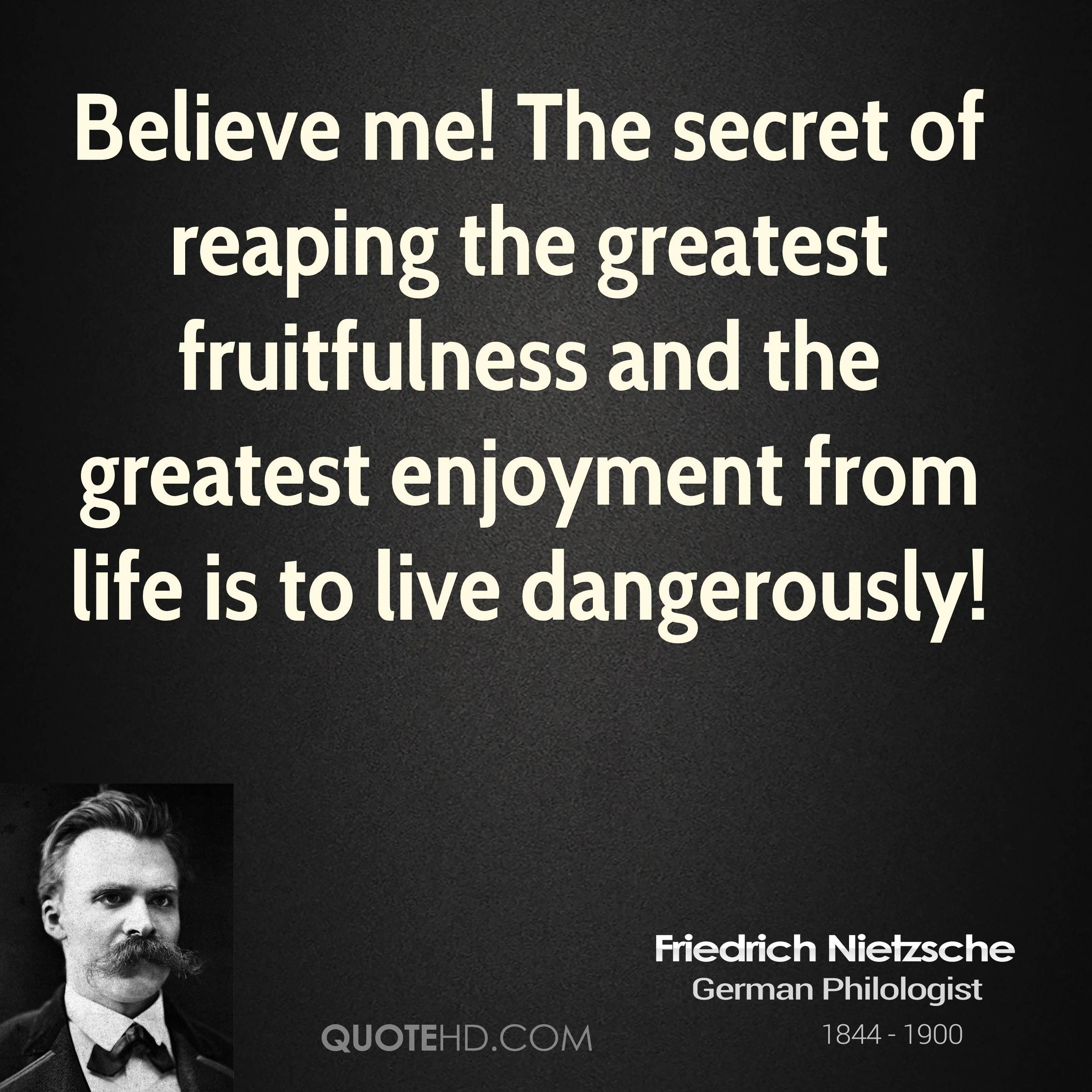 The Life & Philosophy of Friedrich Nietzsche