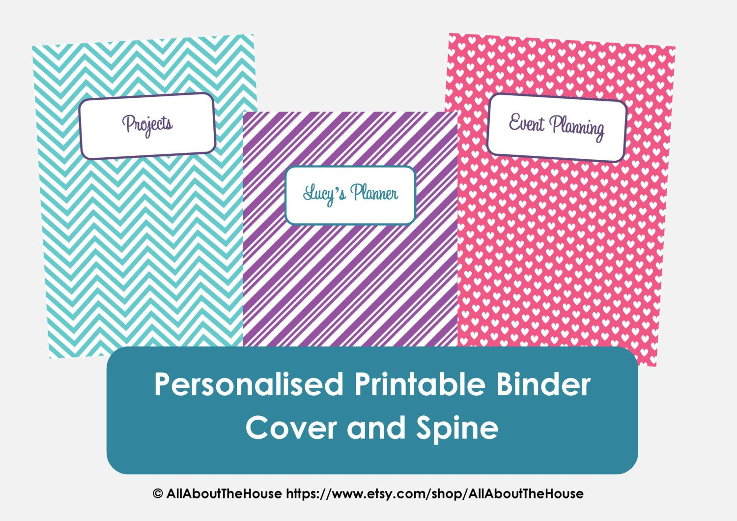 Popular Items For Binder Cover On Etsy Binder Covers Binder