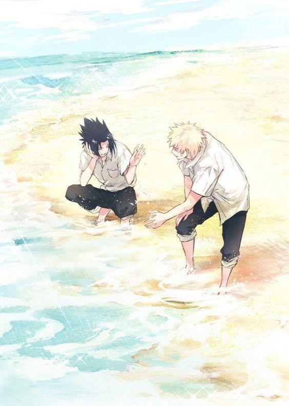 Наруто картинки на пляже