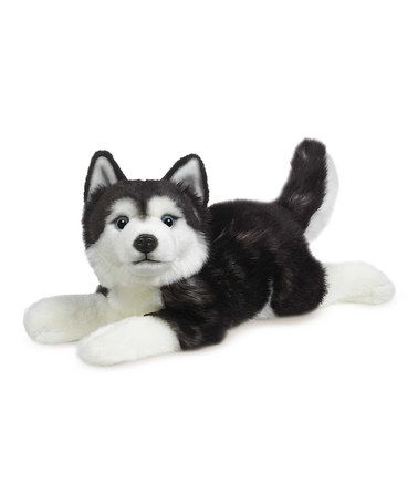 Love This Black White Classics Husky Plush Toy By Ganz On