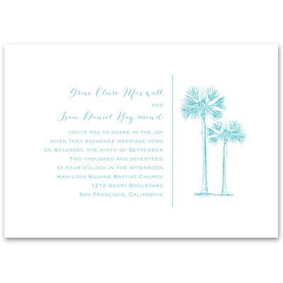 Tropical Pair - Invitation