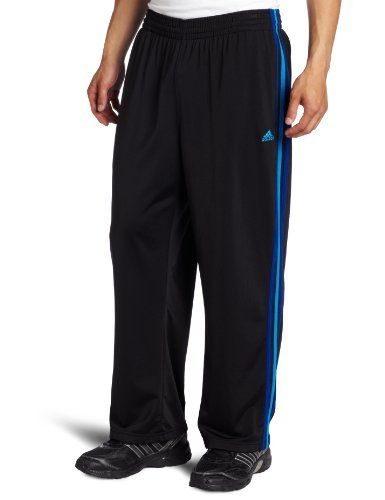 adidas pants blue stripes