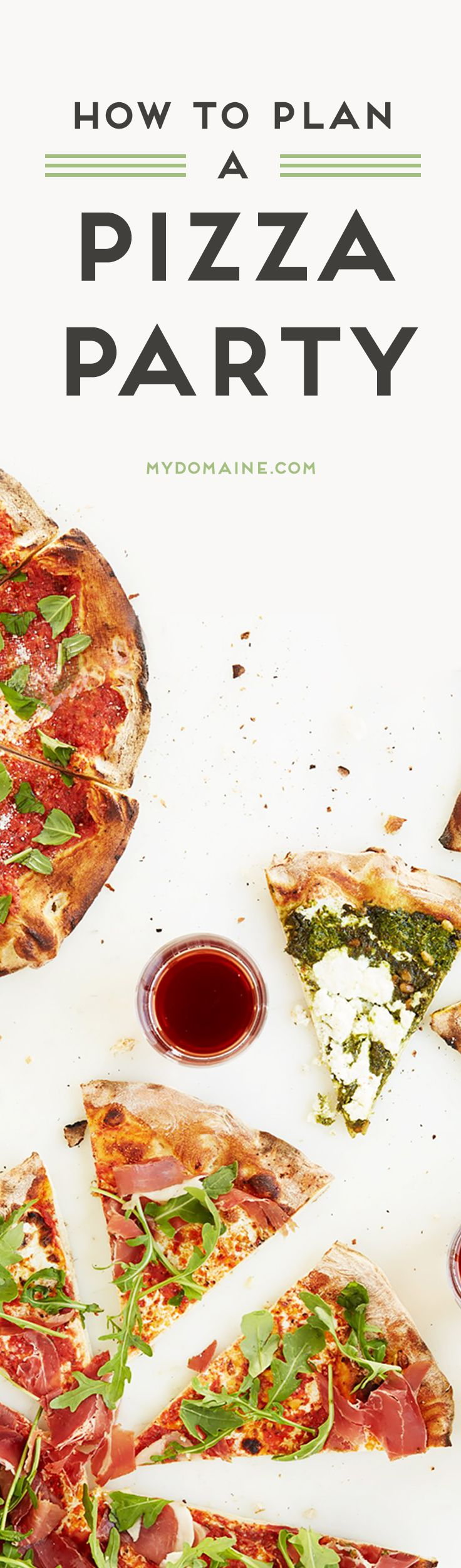 Everything You Need to Plan a Pizza Party   Pizza party, Pizzas and ...