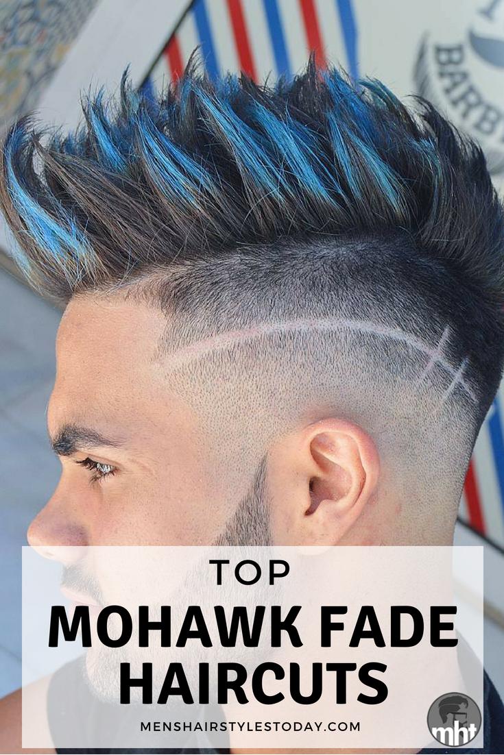 Mohawk Fade Mohawks Fade Haircut And Haircuts