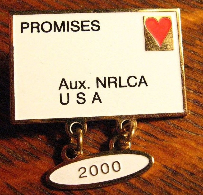Details about NRLCA Lapel Pin 2000 Auxiliary National