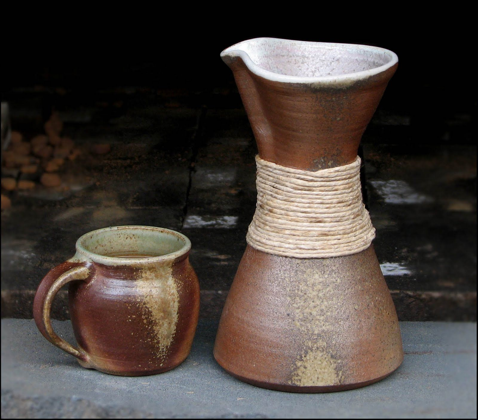 Clay Chemex made by Michael Mahan. I think he sells them ...