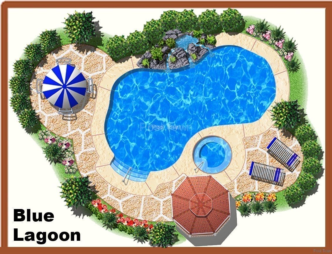 pool designs blue lagoon wwwpooltown1com - Lagoon Swimming Pool Designs