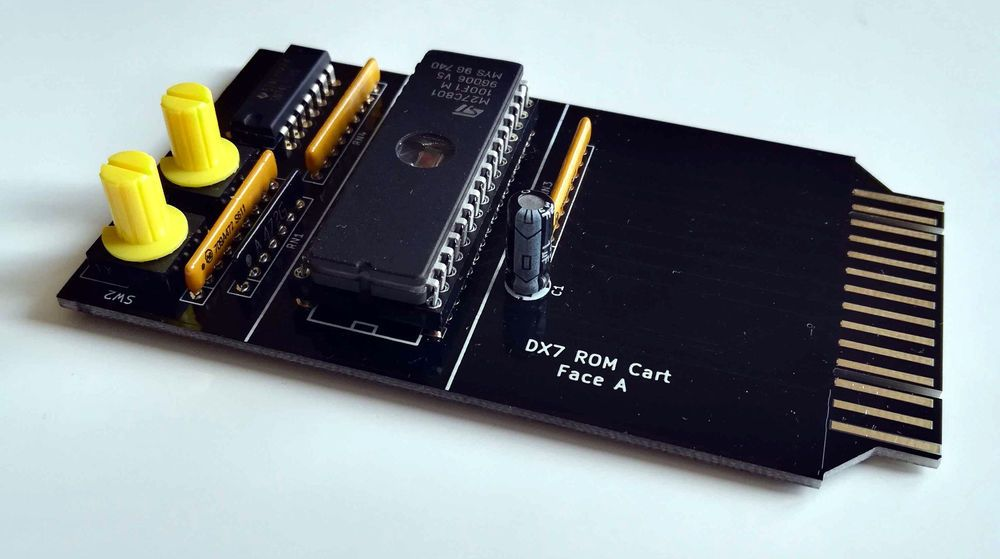 The French DX7 Cartridge capable of holding 6000 patches is