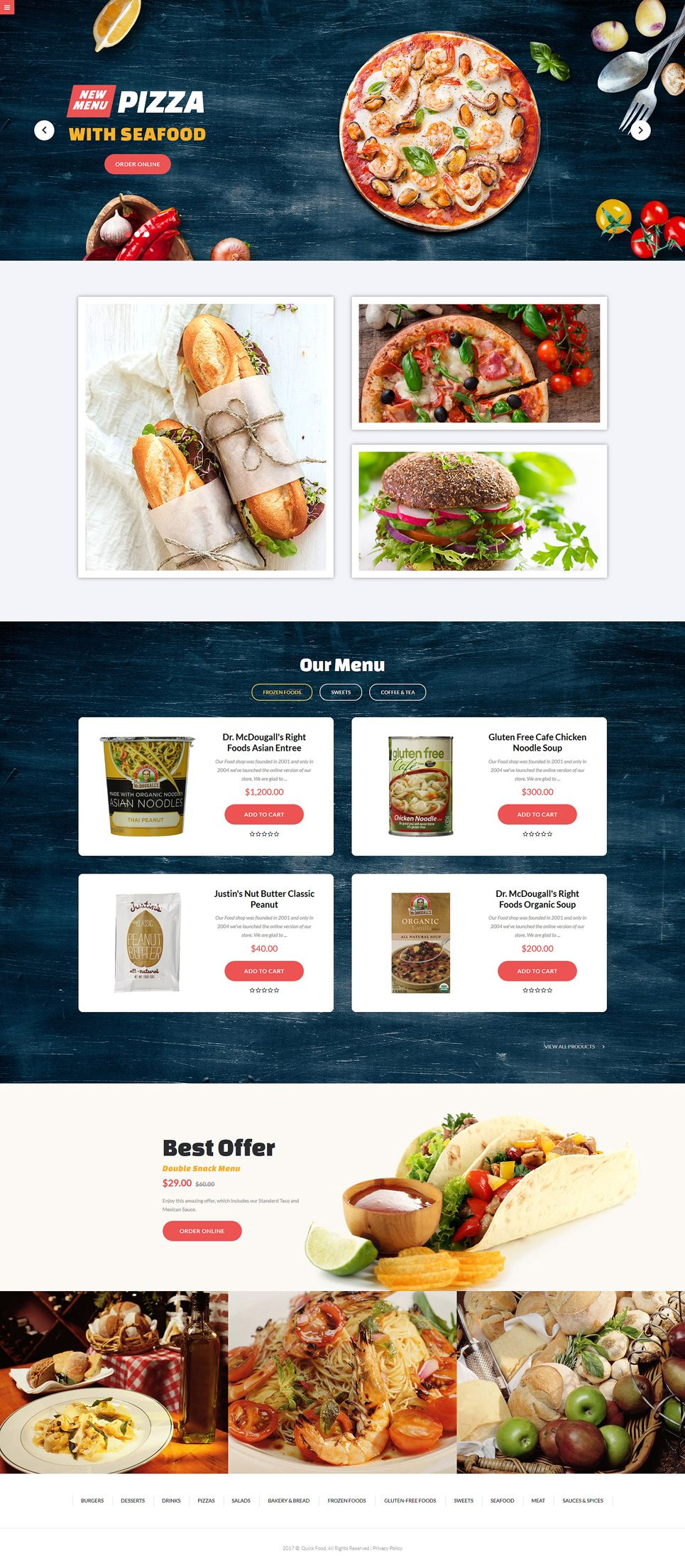 Quick food responsive joomla template joomla templates pinterest quick food responsive joomla template forumfinder Images