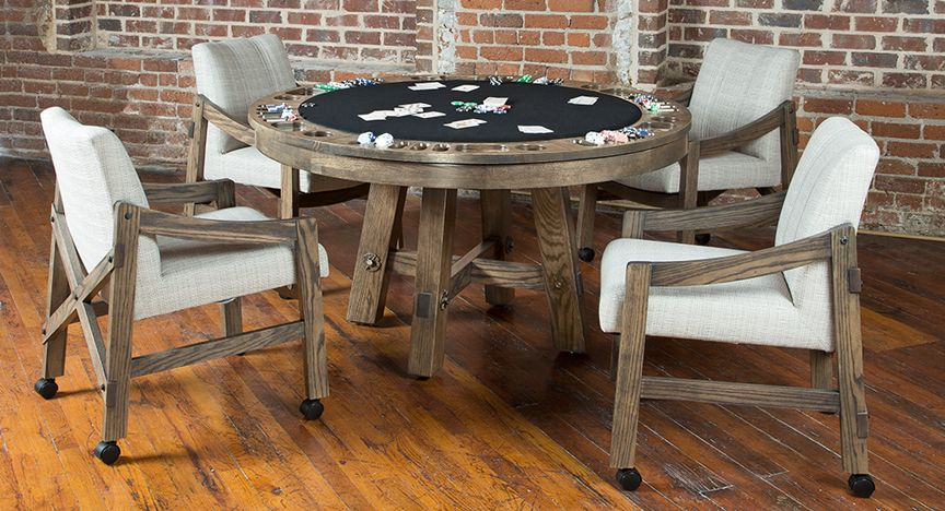 Loft Reversible Top Game Table Game Table And Chairs Table