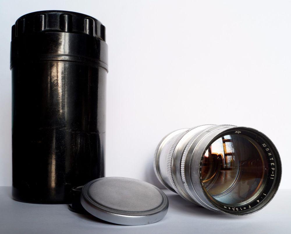 JUPITER-11 135 mm f/4 M39 USSR Lens 1959 Year #Jupiter