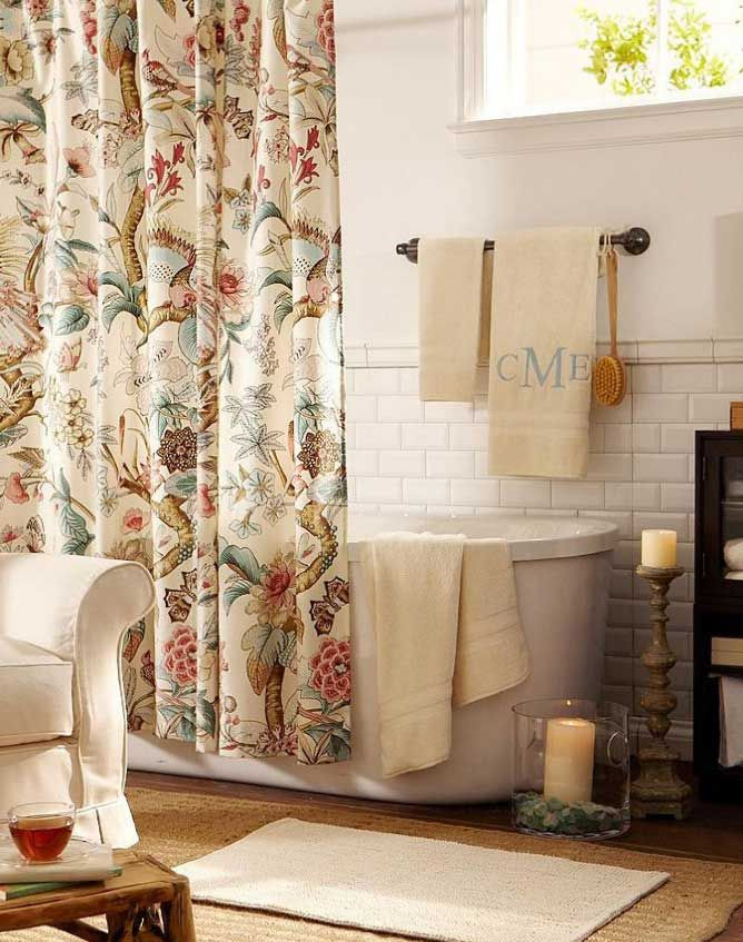 23 Elegant Bathroom Shower Curtain Ideas Photos Remodel And Amazing Elegant Bathroom Shower Curtains Inspiration Design