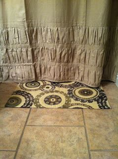 A + Life: DIY bathroom rug!