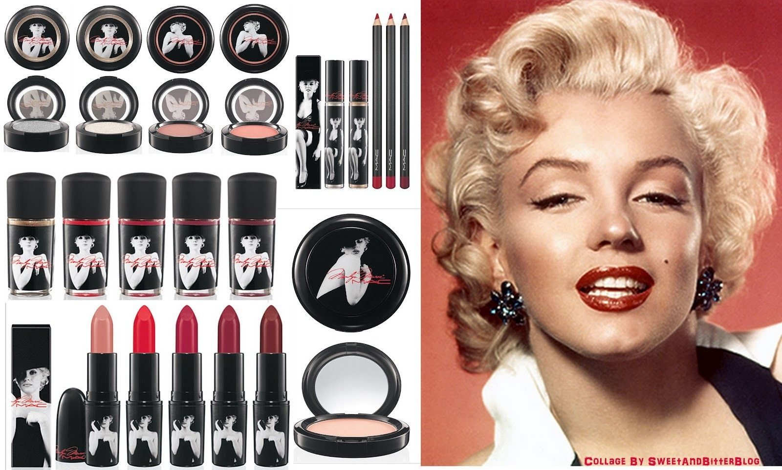 MARILYN MONROE - M.A.C MAKEUP COLLECTION