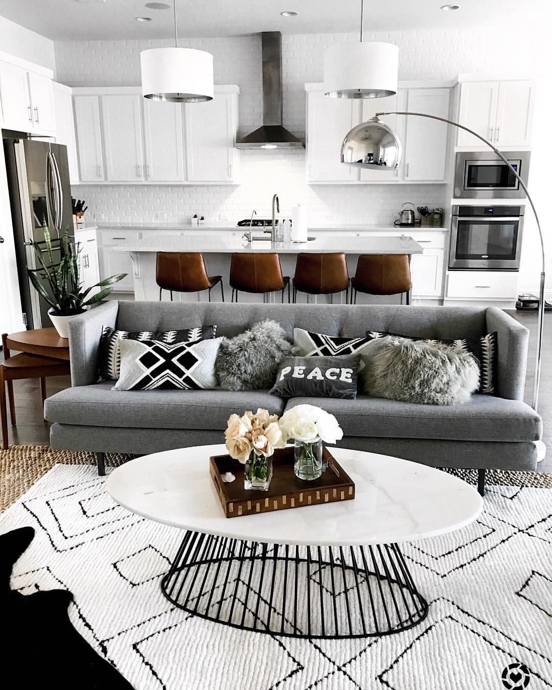 Best Living Room Inspo Monochromatic And Neutrals With A Mid 640 x 480