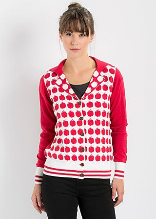 bowling bee cardy, audrey apple, Cardigan, Rot