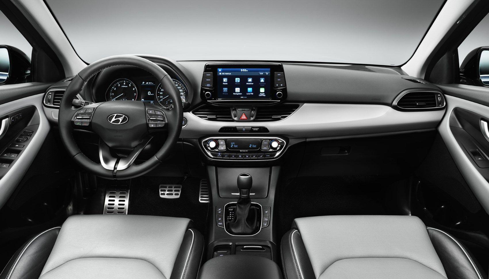 Hyundai I30 Interior New Hyundai Hyundai Hyundai Elantra
