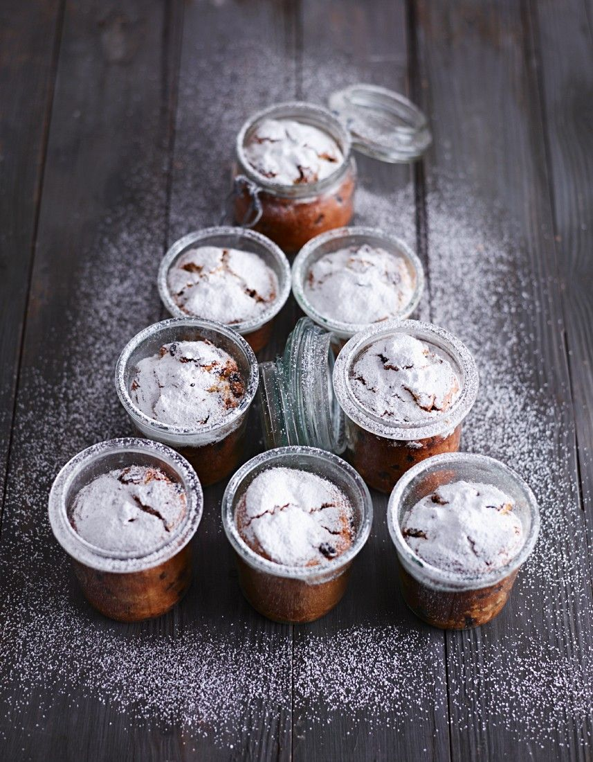 Kleine Stollen im Glas - smarter - Zeit: 30 Min. | eatsmarter.de