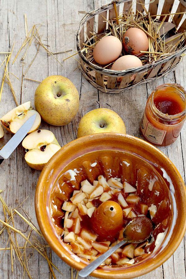 les cuisines de garance pommes arbouses pudding pour accueillir le froid qui arrive sur. Black Bedroom Furniture Sets. Home Design Ideas