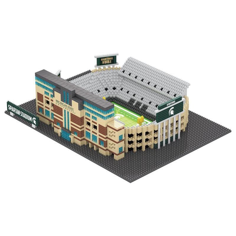 202b74e1d1ef58 Michigan State Spartans NCAA 3D BRXLZ Stadium - Spartan Stadium (PREORDER -  SHIPS IN OCTOBER)