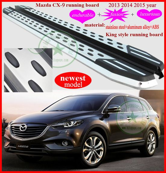 For Mazda Cx 9 Running Board Side Step Bar Newest Model Fashion Luxrious Iso9001 Quality Free Shipping To Asia 2013 2017 Mazda Cx 9 New Model Mazda