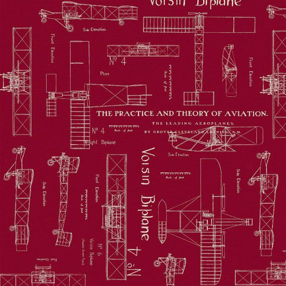 Theory of aviation fabric red blueprint fabric whistler studios theory of aviation fabric red blueprint fabric whistler studios windham fabrics 42096 2 fat quarter malvernweather Image collections