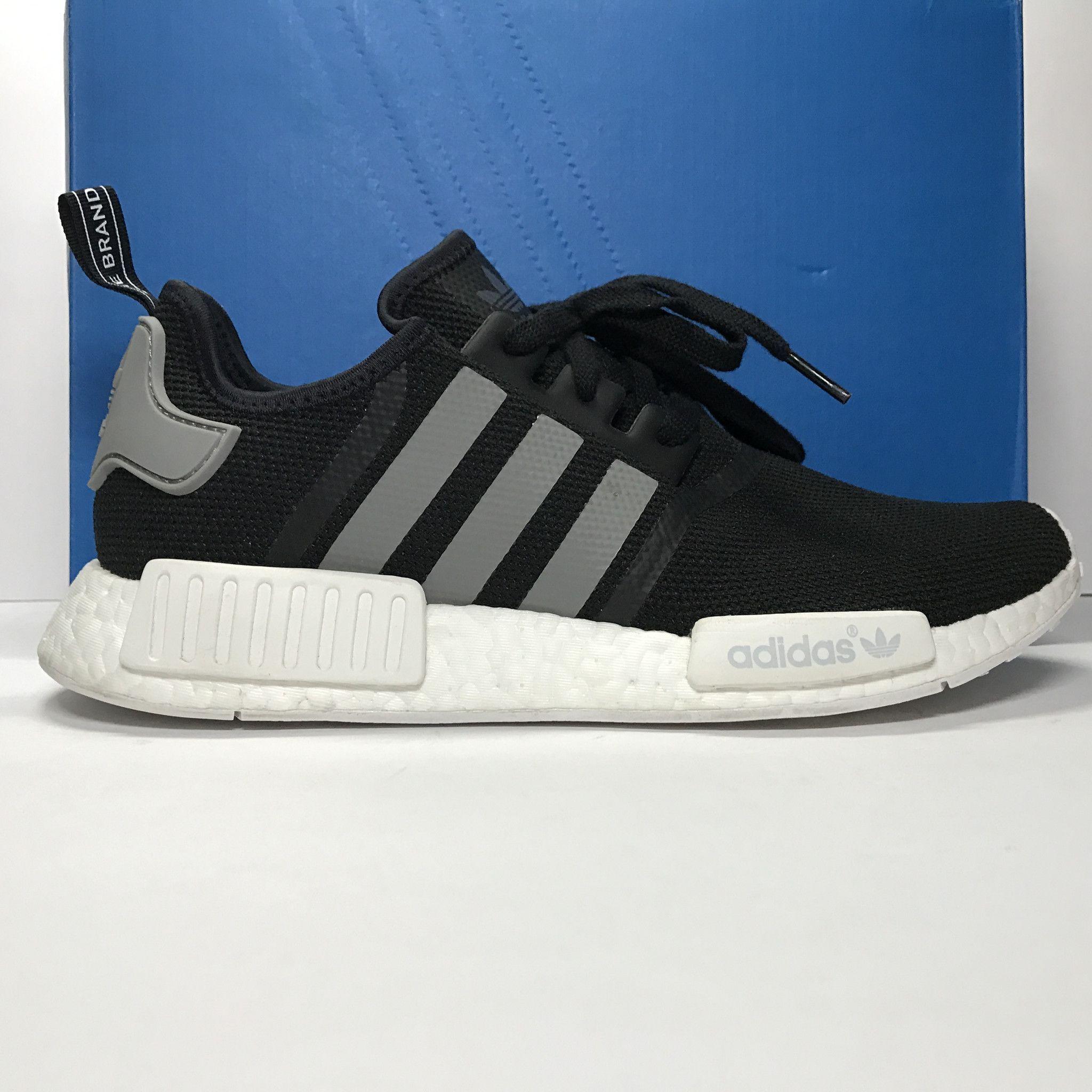 Adidas Originals NMD R1 Wool Dark Grey/Semi Solar Red S31510