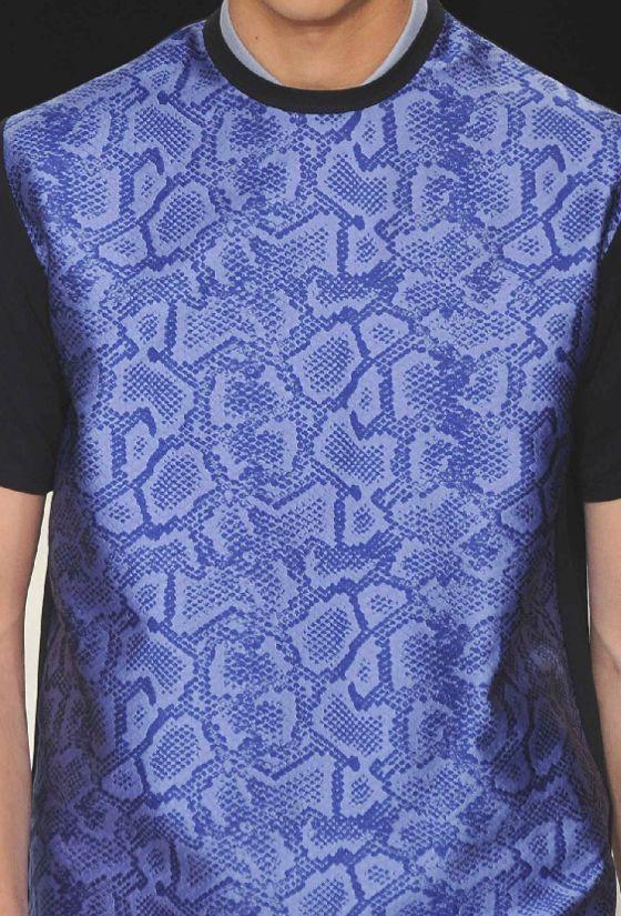 patternprints journal it: STAMPE E PATTERNS DALLE SFILATE DI LONDRA MODA UOMO S/S 2014   Richard Nicoll