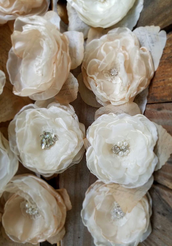 Fabric wedding flowers diy wedding bridal flowers craft supply fabric wedding flowers diy wedding bridal flowers craft supply diy bridal izmirmasajfo