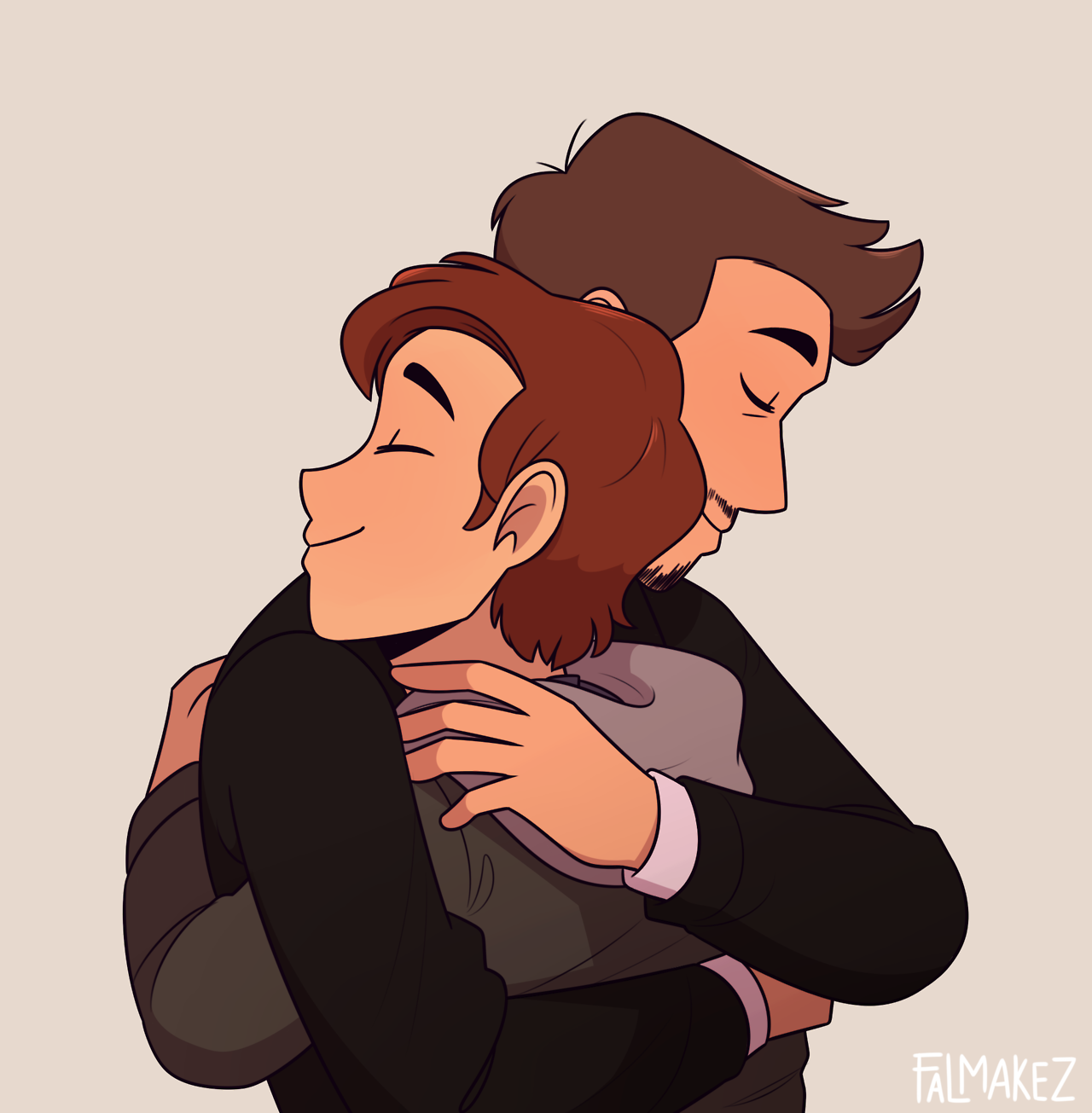 Spiderman Hug Tony Stark,Peter Parker