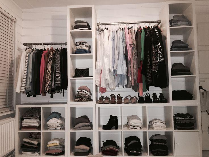 Ideas For The Apartment Decoration De Placard Kallax Ikea Rangement Dressing