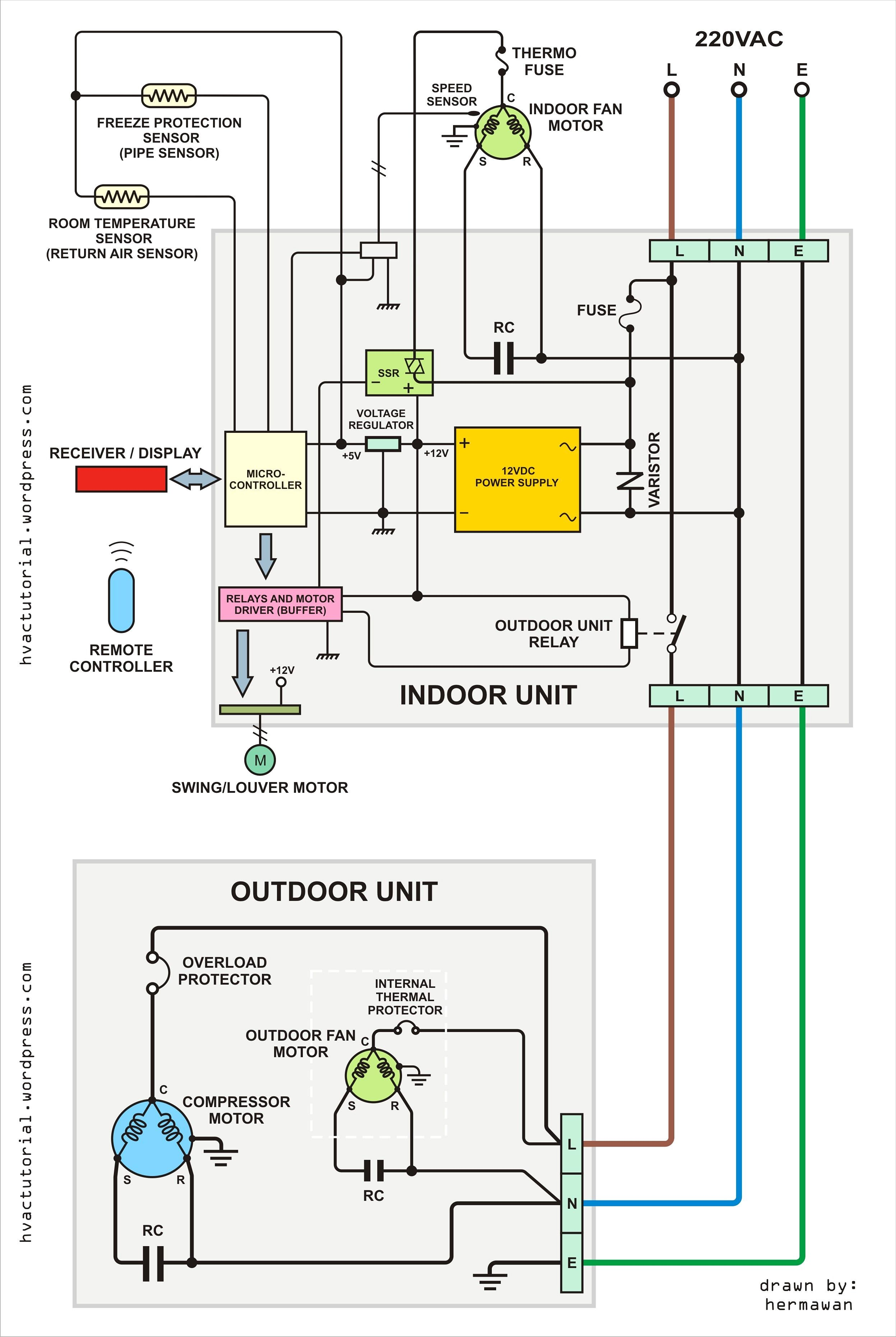 New Air Conditioning Split Unit Wiring Diagram Mercury