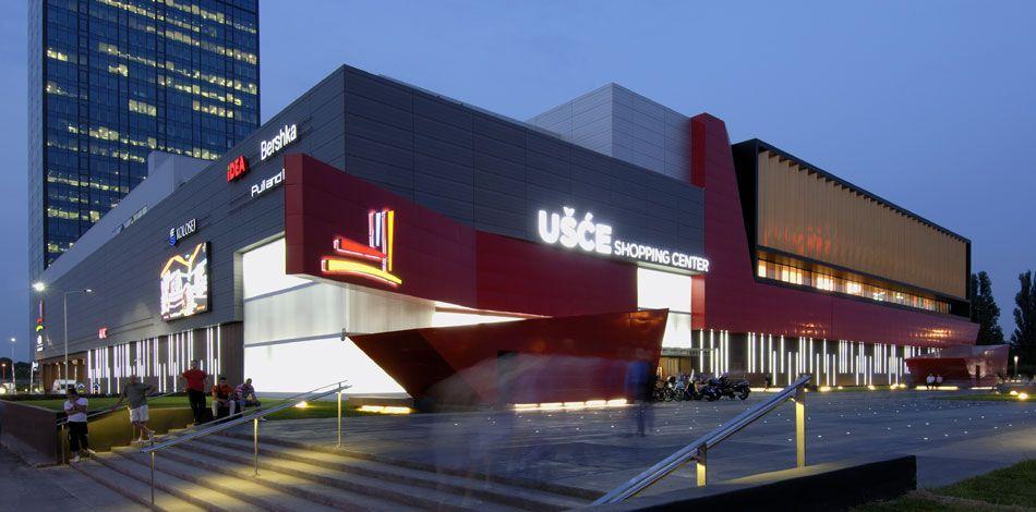 contemporary shopping center design